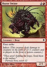 Razor Swine - New Phyrexia