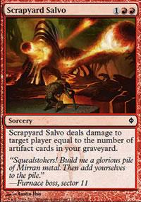 Scrapyard Salvo - New Phyrexia