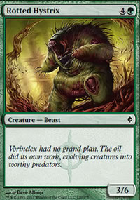 Rotted Hystrix - New Phyrexia