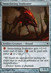 Immolating Souleater - New Phyrexia