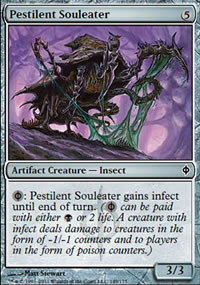 Pestilent Souleater - New Phyrexia
