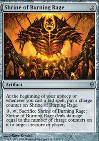 Shrine of Burning Rage - New Phyrexia