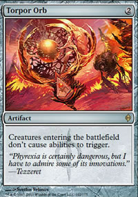 Torpor Orb - New Phyrexia