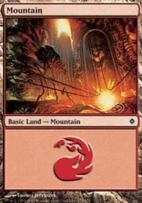 Mountain 2 - New Phyrexia