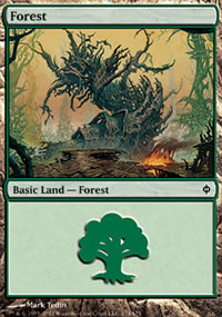 Forest 1 - New Phyrexia