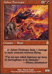 Ashen Firebeast - Odyssey