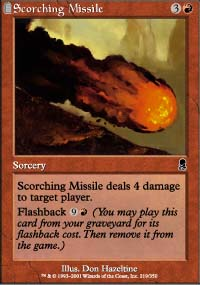 Scorching Missile - Odyssey