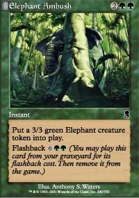 Elephant Ambush - Odyssey
