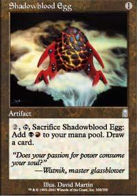 Shadowblood Egg - Odyssey