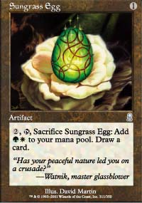 Sungrass Egg - Odyssey