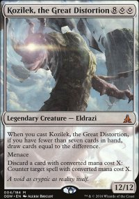 Kozilek, the Great Distortion - Oath of the Gatewatch