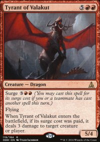 Tyrant of Valakut - Oath of the Gatewatch