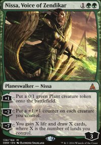 Nissa, Voice of Zendikar - Oath of the Gatewatch