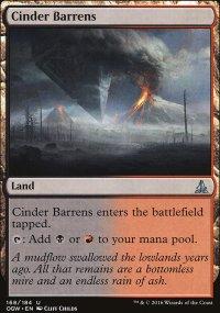 Cinder Barrens - Oath of the Gatewatch