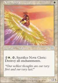 Nova Cleric - Onslaught