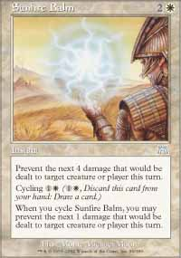 Sunfire Balm - Onslaught