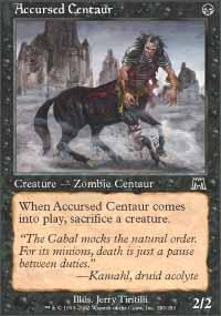 Accursed Centaur - Onslaught