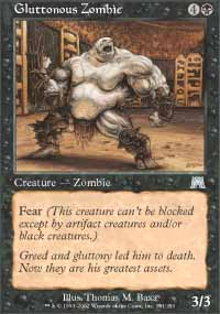 Gluttonous Zombie - Onslaught