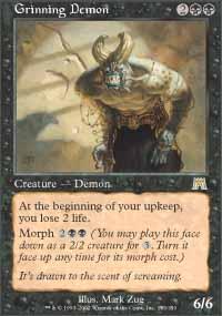 Grinning Demon - Onslaught