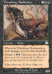 Thrashing Mudspawn - Onslaught