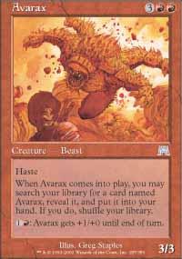 Avarax - Onslaught