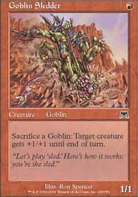 Goblin Sledder - Onslaught