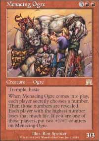 Menacing Ogre - Onslaught