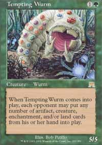 Tempting Wurm - Onslaught