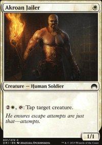 Akroan Jailer - Magic Origins