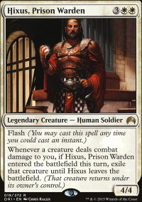 Hixus, Prison Warden - Magic Origins