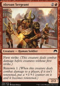 Akroan Sergeant - Magic Origins