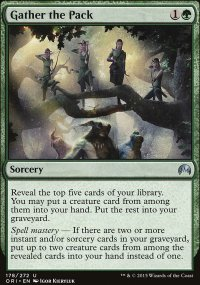Gather the Pack - Magic Origins