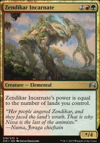 Zendikar Incarnate - Magic Origins