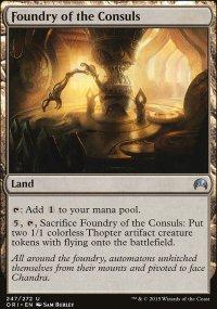 Foundry of the Consuls - Magic Origins