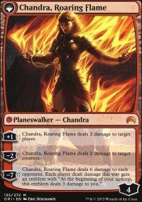 Chandra, Roaring Flame - Magic Origins