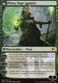 Nissa, Sage Animist - Magic Origins