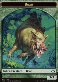 Boar - Planechase Anthology decks
