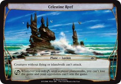 Celestine Reef - Planechase Anthology