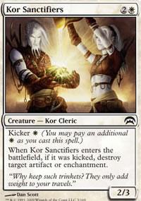Kor Sanctifiers - Planechase decks