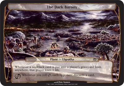 The Dark Barony - Planechase