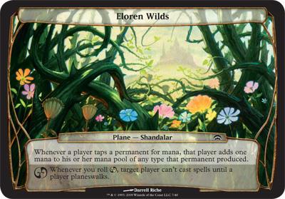 Eloren Wilds - Planechase