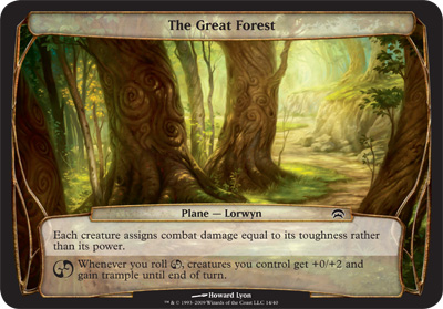 The Great Forest - Planechase