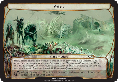 Grixis - Planechase