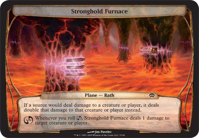 Stronghold Furnace - Planechase