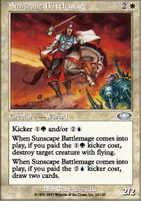 Sunscape Battlemage - Planeshift