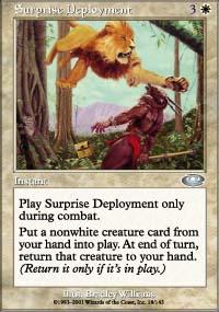 Surprise Deployment - Planeshift