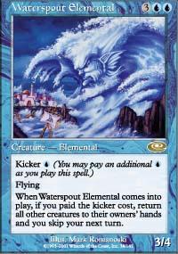 Waterspout Elemental - Planeshift