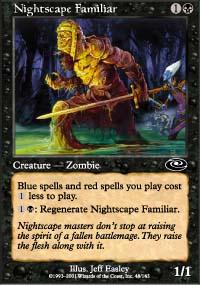 Nightscape Familiar - Planeshift