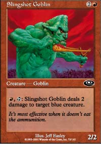 Slingshot Goblin - Planeshift