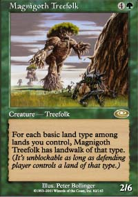Magnigoth Treefolk - Planeshift
